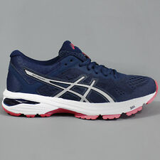Asics Womens GT-1000 6 Insignia Blue / Silver / Rouge Red