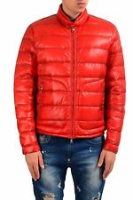 Moncler Men's Red Full Zip Packable Down Parka Jacket Size 2 3