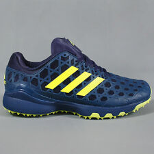 Adidas Adizero Hockey Shoes Blue Night / Semi Solar Yellow