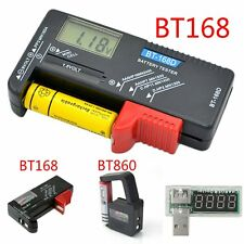 AA AAA C D 9V 1.5V Universal Button Cell Battery Volt Tester Checker Indicato FF