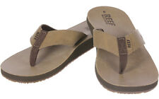 Reef Leather Smoothy Sandalen braun