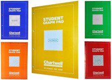 A4 Chartwell Student Graph Pad Notebook Isometric Grid Square