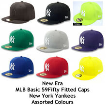 NEW ERA MLB BASIC 59FIFTY CAP - NEW YORK YANKEES - ASSORTED COLOURS AND SIZES