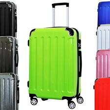 Reisekoffer QTC LONDON Hartschalen Koffer Reise Trolley Case Kofferset M L XL