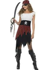 Ladies Fancy Dress Sexy Pirate Wench Costume