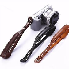 Leather Hand Wrist Strap Lanyard For A5000 5T 5R A6000 GM1 A5100 NX2000 Camera