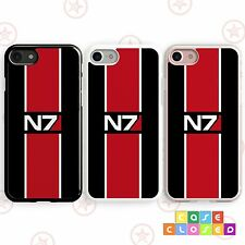 MASS EFFECT N7 INSPIRED GAMING SHEPARD For iPhone Samsung Phone Case Cover