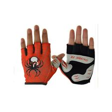 RI SHENG MTB Mountain Motocross Cycling Glove Bike Bicycle Sports Antiskid Half
