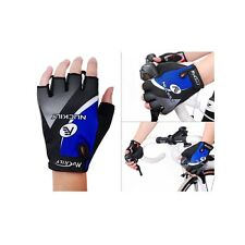 Nuckily Cycling Gloves Bicycle Half Finger Gloves XL