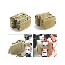 Bicycle Front Frame Tube Bag Saddle Pack Pouch Shoulder Bag Camo Pannier For Cyc