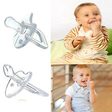 Safe Silicone Nipple Soother Pacifier Baby Infant Orthodontic Dummy Teether BPA
