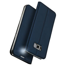 Cover Skins Case Slim Luxury Magnet Flip Leather For Samsung Galaxy S8/S8 Plus