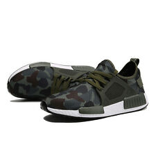 New Camouflage Lace Up Breathable Mesh Sport Running Trainers Mens Fitness Shoes