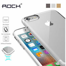 ★ ROCK Brand Crystal Clear Transparent Silicon Back Case Cover For ★ ALL MODELS