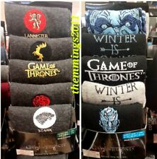 Game Of Thrones Men's Socks - Officially Licenced HBO Merchandise  Size 6/8 9/12