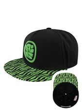 The Incredible Hulk Marvel Hulk Smash Snapback Cap