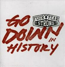 FOUR YEAR STRONG - GO DOWN IN HISTORY [EP] USED - VERY GOOD CD