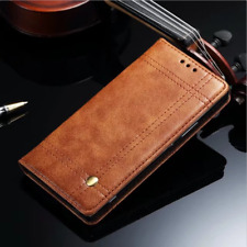 Card Wallet Phone Case Cover For OnePlus 5 Luxury Magnetic Flip Retro Leather