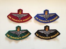 The Parachute Regiment - Embroidered Patches / Badges - Sew On / Biker Patch