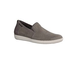Herren Slipper Mephisto Ulrich, Light Grey, Leder, NEU- Herrenschuhe Grau