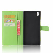 PU Leather Flip For Sony Xperia XA1 Ultra Phone  Stand Card Slots Case Cover