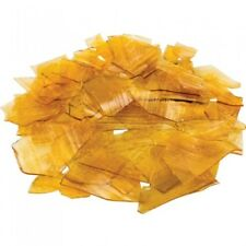150g Golden Shellac Flakes Resin French Polish Woodwork Jewellery Varnish