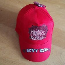 Casquette BETTY BOOP rouge