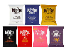 Kettle Chips Pub Case 18x40g - Available in 7 Flavours
