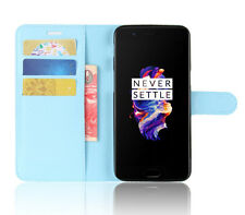 PU Leather Cover Luxury Wallet Card Pocket For OnePlus 5 Stand Flip Slim Case