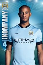 Manchester City Football Club Vincent Kompany MCFC Poster 61x91.5cm