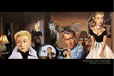 New Master of Mystery (North by Northwest) The Art of Justin Reed Poster