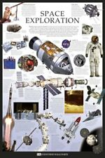 New Space Exploration Dorling Kindersley Maxi Poster