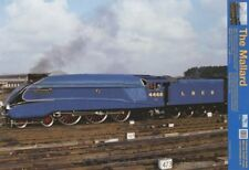New Steaming Ahead Of The Competition Mallard Train Mini Poster