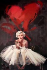 Marilyn Monroe Paint By James Patterson Poster 61x91.5cm