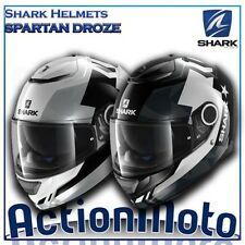 Casque Helmet Intégrale Shark SPARTIATE DROZE moto scooter