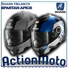 Casque Helmet Intégrale Shark SPARTIATE APICS moto scooter