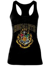 Canottiera Harry Potter - Hogwarts Old School Ladies Tank Top