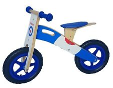 Kiddicars wooden balance bike running bike scooter available in 2 designs