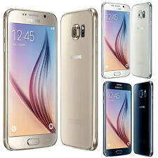 Samsung Galaxy S6 G920  Smartphone 4G 32GB UNLOCKED - BLACK Sapphire / WHITE UK