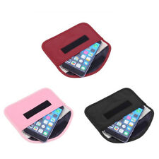 RF Signal Blocker Anti-Radiation Shield Case Bag Pouch for Big Cell Phone GPS RS