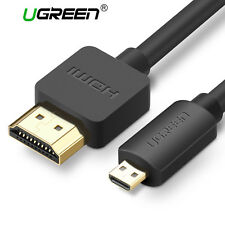 Ugreen Cavo Micro HDMI a HDMI Type D a Type A 3D 4K per GoPro Hero 5 Monitor TV