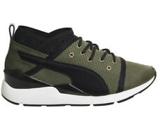 Womens Puma Pearl OLIVE NIGHT VELVET ROPE Trainers Shoes