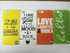 FANCY SLOGAN HARD BACK CASE COVER FOR Apple iphone 5/5S