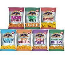 Directors Cut Corn Snacks 7 Flavours + Mixed Box - Full Case of 24
