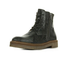 Bottines Kickers femme Oxfoto Cuir Nairobi Gris taille Grise Lacets