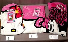 Hello Kitty Beach Towels Tropical/Hello Kitty w/Bows/Minnie Mouse w/Dots NEW
