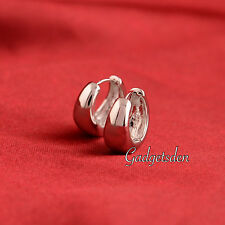 Kaju Bali Hoop Silver Men's Pierce Earrings Salman khan Style Inspired