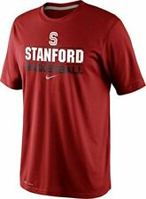 Nike Stanford Cardinal Basketball Team Issue Practice Dri-FIT Mens T-Shirt New