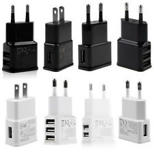 5V 2A 1 2 3-Port USB Wall Adapter Charger US/EU Plug For Samsung S5 S6 iPhone DS