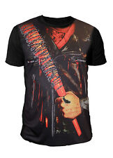 The Walking Dead - Negan Sublimation Herren T-Shirt Schwarz (Gr.S-XL)